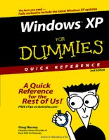 Windows XP For Dummies, 2nd Edition pot