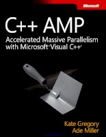 C++ AMP: Accelerated Massive Parallelism with Microsoft Visual C++ potx