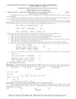 phương pháp giải bài toán về  aluminum và hợp chất của aluminum