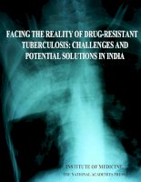 FACING THE REALITY OF DRUG-RESISTANT TUBERCULOSIS: CHALLENGES AND POTENTIAL SOLUTIONS IN INDIA pot