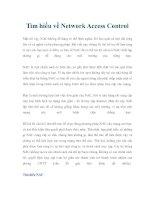 Tìm hiểu về Network Access Control pdf