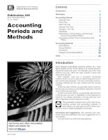 Publication 538 (Rev. December 2012) Accounting Periods and Methods ppt