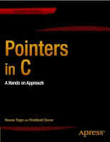 Naveen toppo, hrishikesh dewan   pointers in c  a hands on approach 2013