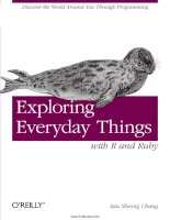 Exploring Everyday Things with R and Ruby docx