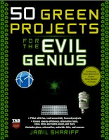 green projects for the evil genius