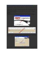 Cài đặt và sử dụng chương trình Nero để ghi dĩa CD/DVD pdf