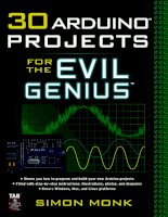 30 Arduino Projects for the Evil Genius doc