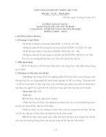hướng dẫn sử dụng ngân hàng đề thi kế toán doanh nghiệp khóa 3