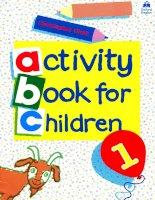 Activity Book for Children - Book 1 potx