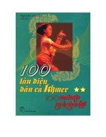 100 làn điệu dân ca Khơme (tập 1) ppt