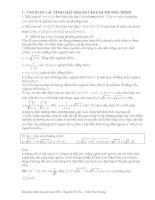 Kỹ thuật sử dụng tính đơn điệu hàm số để giải phương trình, hệ phương trình