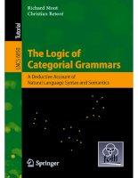 The Logic of Catagorial Grammars pot