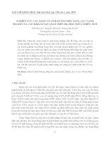 NGHIÊN CỨU CÁC NHÂN TỐ ẢNH HƯỞNG ĐẾN NĂNG LỰC CẠNH TRANH CỦA CÁC KHÁCH SẠN 4 SAO TRÊN ĐỊA BÀN THỪA THIÊN HUẾ pot
