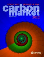 STATE AND TRENDS OF THE CARBON MARKET 2012 potx