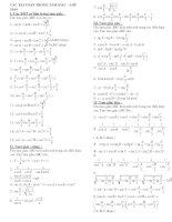 Bài tập bất đẳng thức tam giác