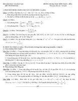 đề tham khảo ôn thi đại học môn toán đề (6)