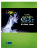 MOOD DISORDERS & HORMONAL TRANSITIONS: THE UPS & DOWNS docx