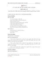 Đề cương ôn tập tốt nghiệp pdf