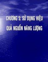 AI GIANG MON SAN XUAT SACH HON - NANG LUONG SU DUNG TRONG CONG NGHIEP LO HOI