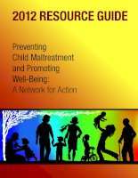 Preventing Child Maltreatment and Promoting Well-Being: A Network for Action doc