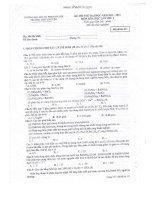 ĐỀ THI THỬ ĐẠI HỌC LẦN THỨ I NĂM 2013 MÔN HÓA HỌC - TRƯỜNG ĐHSP HÀ NỘI - MÃ ĐỀ THI 211 potx