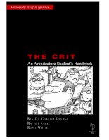 The Crit: An Architecture Student's Handbook docx