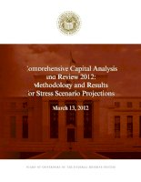 Comprehensive Capital Analysis and Review 2012: Methodology and Results for Stress Scenario Projections pptx