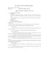 TÀI LIỆU ÔN THI TỐT NGHIỆP PHỔ THÔNG MÔN ĐỊA LÝ pdf