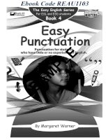easy punctuation book 4