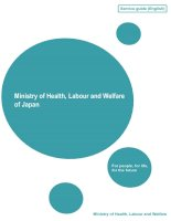 Ministry of Health, Labour and Welfare of Japan ppt
