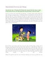 Phân tích bài thơ Nói với con của Y Phương docx