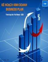 Mẫu slide powerpoint sự tăng trưởng trong kinh doanh