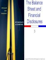 Intermediate Accounting - Chap003 ppt