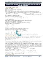 Phương pháp giải các bài tập đặc trưng về axit cacboxylic - tài liệu bài giảng pdf