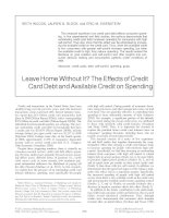Bankruptcy Reform and Credit Cards doc