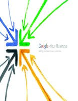 GOOGLE + Your Business: Getting you closer to your customers pot