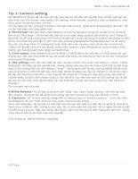 20 tips chụp ảnh kỹ thuật số phần 2 pdf