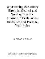 Overcoming Secondary Stress in Medical and Nursing Practice: A Guide to Professional Resilience and Personal Well-Being docx