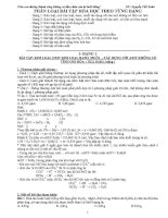 phân loại bài tập hóa học vô cơ 12 theo từng dạng có đáp án