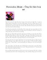Hanasaka Jiisan – Ông lão làm hoa nở ppt