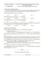 Đề thi lớp 10 môn toán 2013 tỉnh Vĩnh Phúc docx