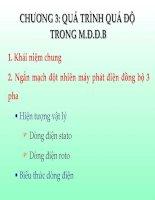 Chuong 3 quá trình quá độ TRONG M.Đ.Đ.B