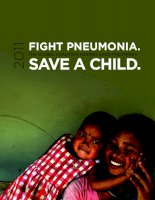 FIGHT PNEUMONIA THE GLOBAL COALITION AGAINST CHILD PNEUMONIA SAVE A CHILD 2011 doc