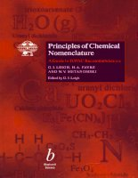 Principles of Chemical Nomenclature: A GUIDE TO IUPAC RECOMMENDATIONS ppt