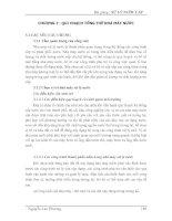 Bài giảng: Xử lý nước cấp (Chương 3) docx