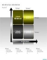 biểu đồ ma trận – biểu đồ rủi ro, risk assessment matrix chart