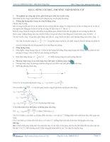 Bài giảng sóng cơ học phương trình sóng cơ
