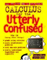 calculus for the utterly confused - oman