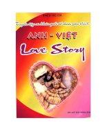 Tuyển tập ca khúc quốc tế được yêu thích Anh- Việt pdf