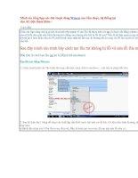 Tổng hợp các thủ thuật dùng Winrar ppt